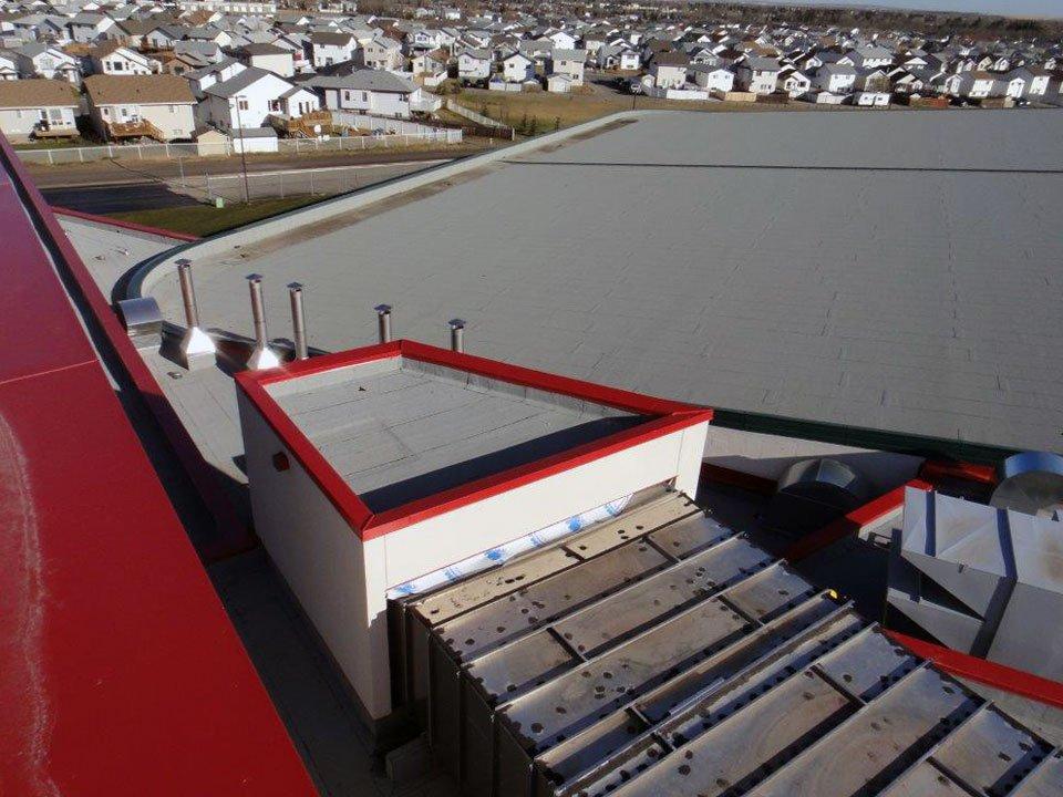 Aquatic Centre, Grande Prairie, ABRoof Design